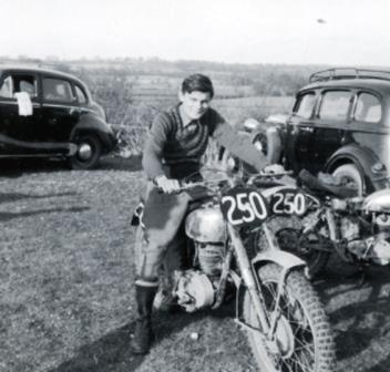 Dave Bickers 1954 DOT
