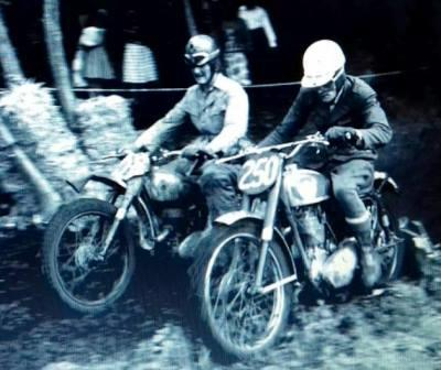 Dave Bickers BSA Gold Star 1957