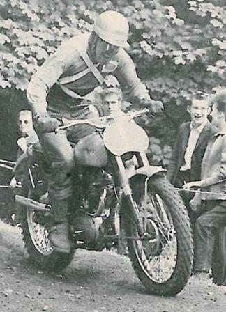 1963 BSA Dave Bickers