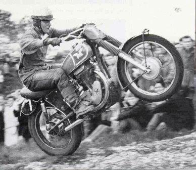 Dave Bickers Matchless